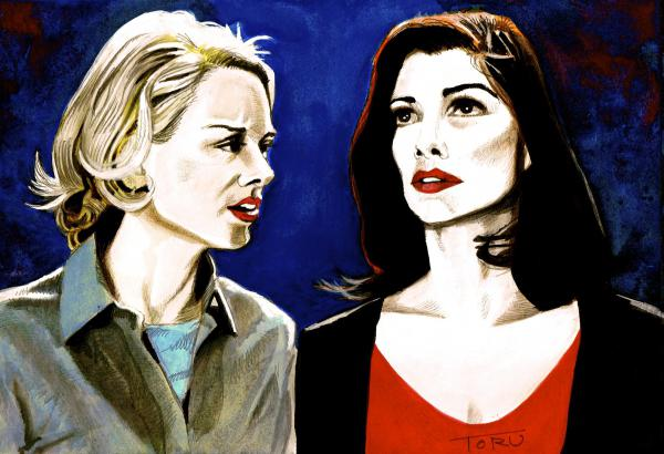 Laura Harring, Naomi Watts by eiger3975